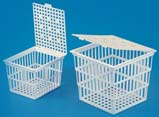 Tarsons Test Tube Basket with Cover